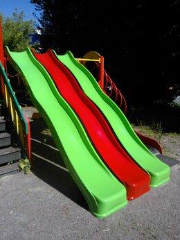 Игровые домики и палатки - Горка стеклопластиковая 3.9 метра, 0