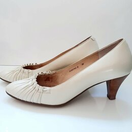Туфли - Белые туфли-лодочки , 0