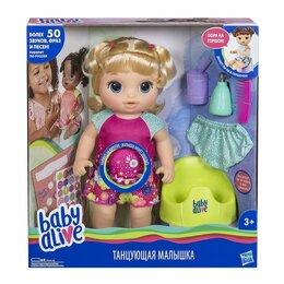 """Куклы и пупсы - Кукла Baby Alive """"Танцующая Малышка. Блондинка"""", 0"""