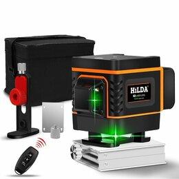 Измерительные инструменты и приборы - Самонивелирующийся лазерный уровень hilda 3D, 0