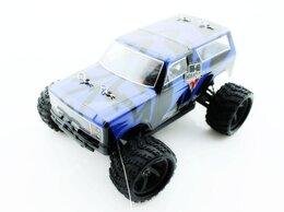 Радиоуправляемые игрушки - Радиоуправляемый монстр Himoto Tracker Brushless…, 0
