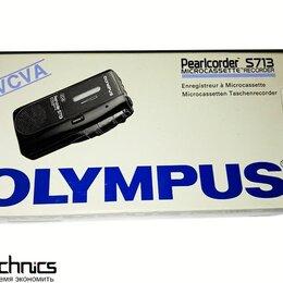 Микрофоны - Диктофон микрокассетный Olympus Pearlcorder S713 , 0