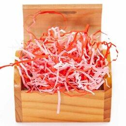 Подарочная упаковка - Наполнитель бумажный, Розовый микс, 50 гр, 0