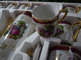 Одноразовая посуда - Кофейный Сервиз yamasen Япония 17 пр. новый набор, 0