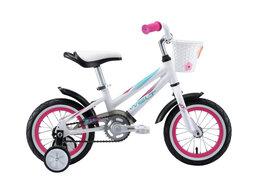 """Велосипеды - Велосипед WELT Pony 12"""" (2020) (белый-розовый), 0"""