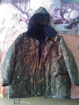 Одежда - Куртка утепленная камуфляжная , 0