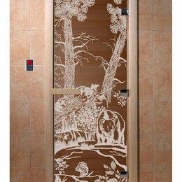Двери - Двери из закаленного стекла для Бань и Саун, 0