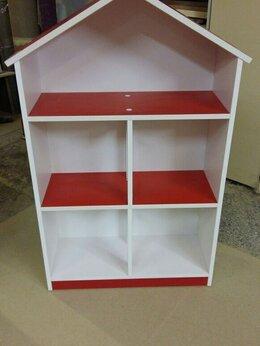 Хранение игрушек - Стеллаж шкафчик домиком. Дом полка домик шкаф А-4, 0