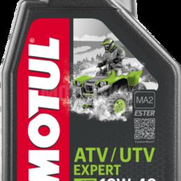 Масла, технические жидкости и химия - Масло моторное MOTUL (Мотюль) ATV - UTV EXPERT, SAE 10W40 (1л), 0