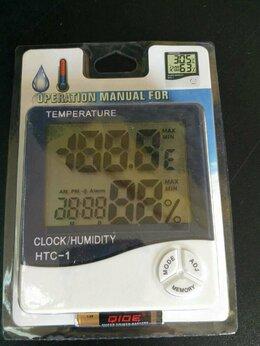 Метеостанции, термометры, барометры - Термометр-гигрометр HTC-1, 0