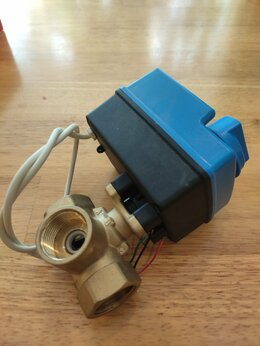 Элементы систем отопления - Кран шаровый трёхходовой, 0