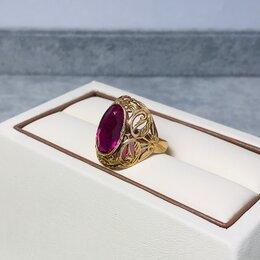 Кольца и перстни - Золотое кольцо с камнями 583пр размер: 18, 0