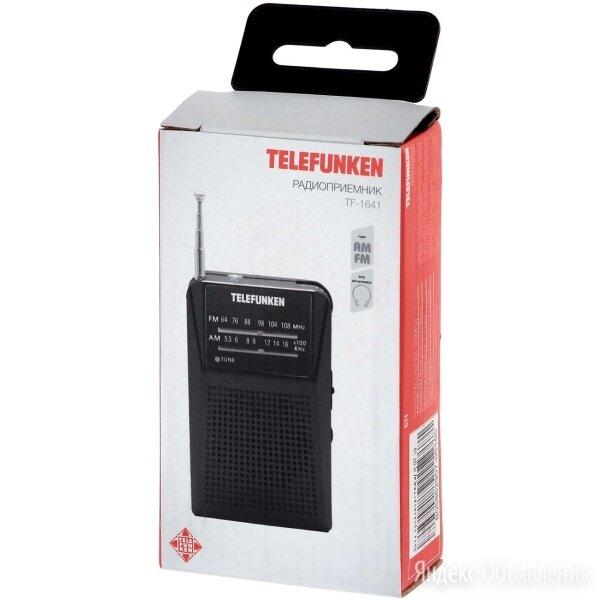 Новый Радиоприемник Telefunken TF-1641 FM/AM Black по цене 400₽ - Радиоприемники, фото 0