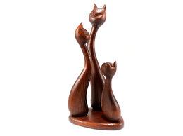 """Статуэтки и фигурки - Статуэтка """"Кошачья семья"""" коричневая, 0"""
