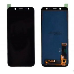 Дисплеи и тачскрины - Дисплеи для Samsung J6 2018, A6 2018, черный OLED, 0