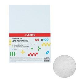 Расходные материалы для брошюровщиков - Обложка 100 листов deVENTE Delta A4, картон, 250 (230) г/м, тиснение под кожу..., 0