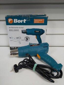 Строительные фены - Строительный фен Bort-BHG-2000x, 0