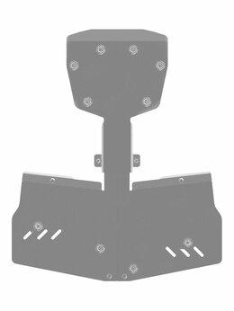 Аксессуары и дополнительное оборудование  - Защита картера на снегоход Can-Am BRP Spyder 1000, 0