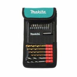 Аксессуары, комплектующие и химия - Набор сверл и бит с магнитным держателем Makita…, 0