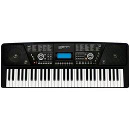 Клавишные инструменты - Denn Синтезатор DENN DEK610, 8 тембров, полифония 8 тонов, 61 клавиша, 0