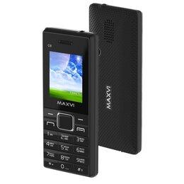 Мобильные телефоны - Сотовый телефон Maxvi c9 черный, 0