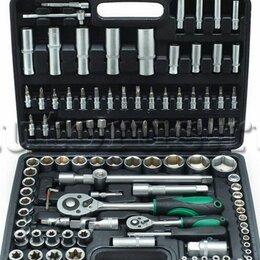 Наборы инструментов и оснастки - Набор инструмента сервис ключ 108 предметов 71108, 0