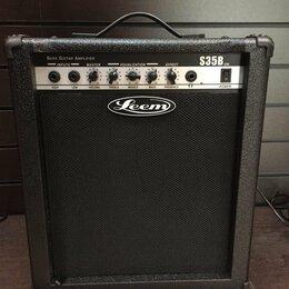 Гитарное усиление - Leem S35B Комбик бас-гитарный 35Вт leem, 0