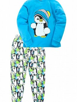 Домашняя одежда - Пижамы на мальчика. Новые. 5 лет., 0