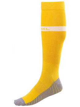 Форма - Гетры футбольные JA-003, желтый/белый(38-41), 0