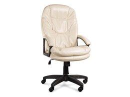 Компьютерные кресла - Кресло Верона ультра кожзам цвет бежевый подлокотн, 0