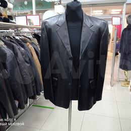 Пиджаки - Пиджак новый из кожи, 0