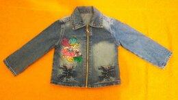 Жакеты - Джинсовая курточка для девочки, 0
