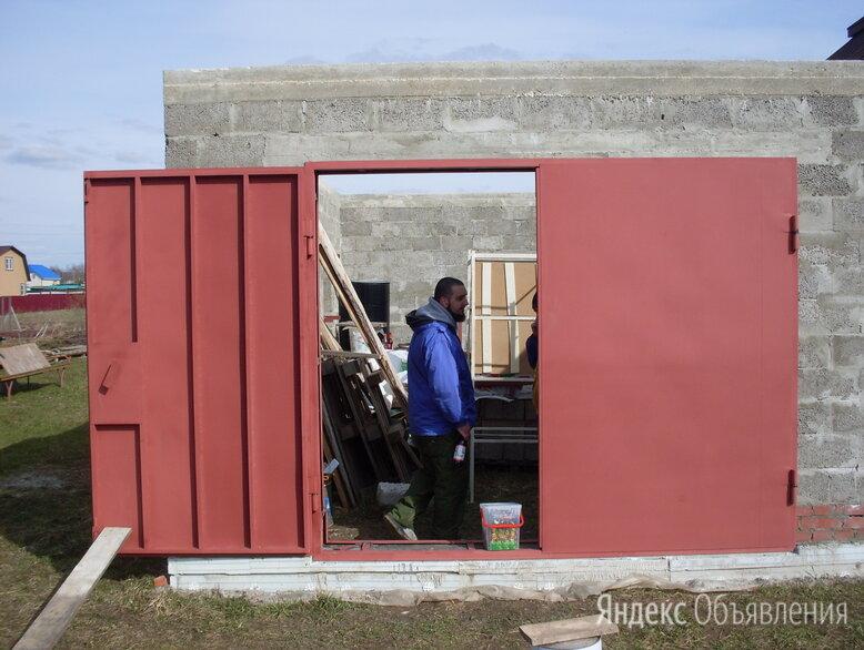 Ворота гаражные по цене 27000₽ - Заборы, ворота и элементы, фото 0