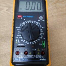 Измерительные инструменты и приборы - Цифровой мультиметр Mastech MY64, 0