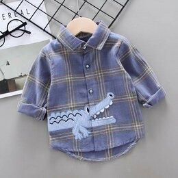 Рубашки - Новая рубашка на мальчика р 110, 0