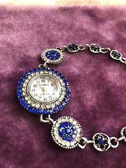 Наручные часы - Часы-браслет женские новые под серебро, 0