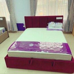 Кровати - Кровать Marta 160х200 См. (Красн Велюр), 0