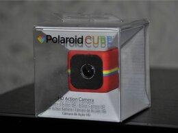 Экшн-камеры - Polaroid Cube Red (новая, запечатанная), 0