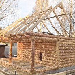 Готовые строения - Сруб для бани 3х4 с пиломатериалом на крышу, 0
