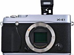 Фотоаппараты - Продам Фотоаппарат fujifilm X-E1 боди, 0