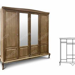 """Кровати - Шкаф для одежды """"Fleuron"""" 4-х дв. (с зеркалом); классик, 0"""