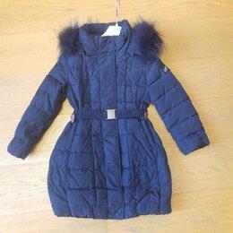 Пальто и плащи - Пальто пух Monnalisa р. 104 Италия, 0