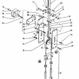 Тормоза - Тормоз ручной ЕВ 687, 0