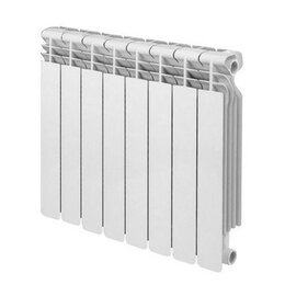 Радиаторы - Радиатор биметал Base 500 rifar 8-Секций, 0