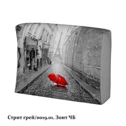 Тумбы - Стрит грей\зонт чб чехол подушки, 0