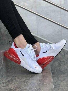 Кроссовки и кеды - Кроссовки Nike Air Max 270 Black/Red , 0