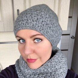 Головные уборы - Женская шапка и снуд, 0