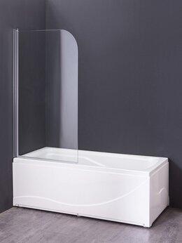 Шторы и карнизы - Шторка для ванны Grossman GR-100 80 см, 0