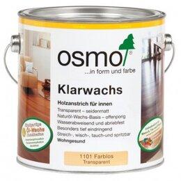 Масла и воск - Osmo Klarwachs 1101 масло с воском для твердых пород древесины, 0