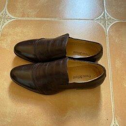 Туфли -  Мужские туфли 40р. Новые. Цвет кофе, 0